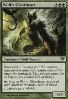 Avacyn Restored Foil: Wolfir Silverheart