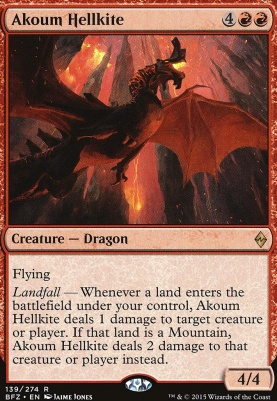 Battle for Zendikar: Akoum Hellkite