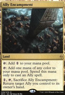 Battle for Zendikar: Ally Encampment