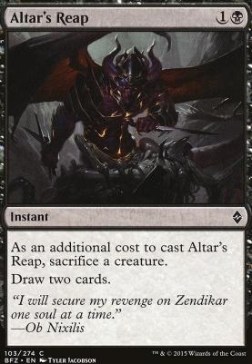 Battle for Zendikar: Altar's Reap
