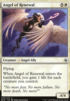 Battle for Zendikar: Angel of Renewal