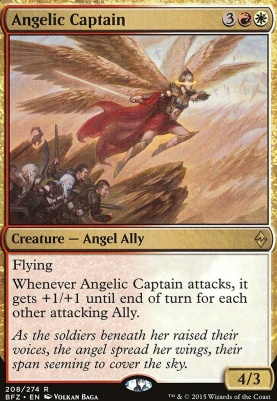Battle for Zendikar: Angelic Captain