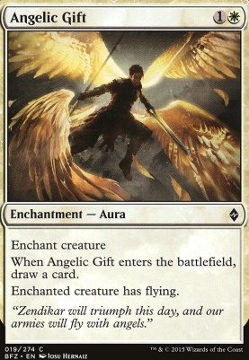 Battle for Zendikar: Angelic Gift