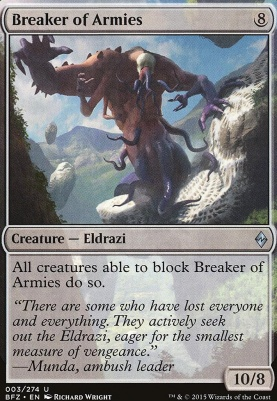Battle for Zendikar: Breaker of Armies