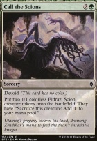 Battle for Zendikar Foil: Call the Scions