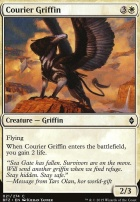 Battle for Zendikar: Courier Griffin