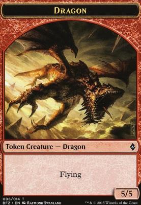 Battle for Zendikar: Dragon Token