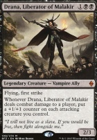 Battle for Zendikar Foil: Drana, Liberator of Malakir