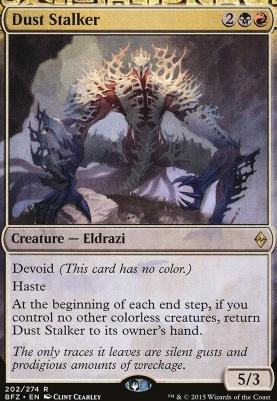 Battle for Zendikar: Dust Stalker