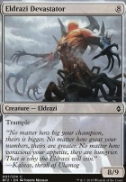 Battle for Zendikar Foil: Eldrazi Devastator