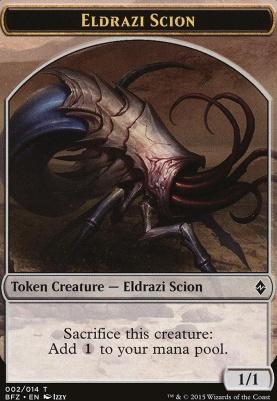 Battle for Zendikar: Eldrazi Scion Token (2 A)