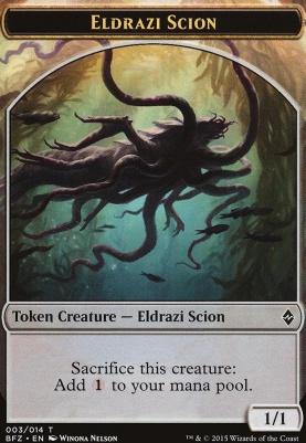Battle for Zendikar: Eldrazi Scion Token (3 B)