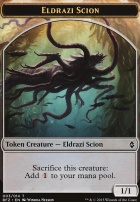 Battle for Zendikar: Eldrazi Scion Token (3 B)