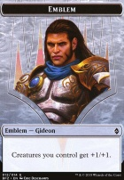 Battle for Zendikar: Emblem (Gideon, Ally of Zendikar)