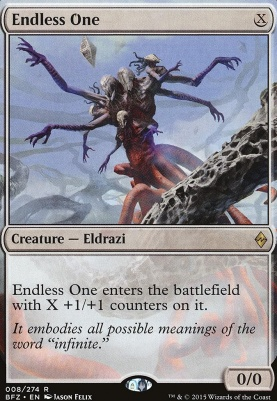 Battle for Zendikar: Endless One