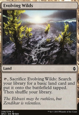Battle for Zendikar Foil: Evolving Wilds
