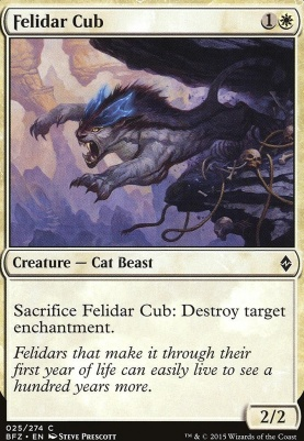 Battle for Zendikar Foil: Felidar Cub