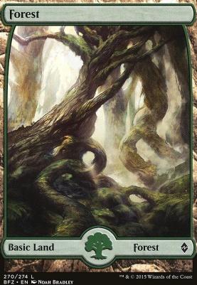 Battle for Zendikar: Forest (270 A - Full Art)