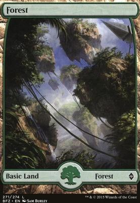 Battle for Zendikar: Forest (271 B - Full Art)