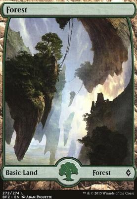 Battle for Zendikar: Forest (272 C - Full Art)