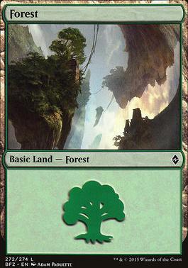Battle for Zendikar: Forest (272 C - Non-Full Art)