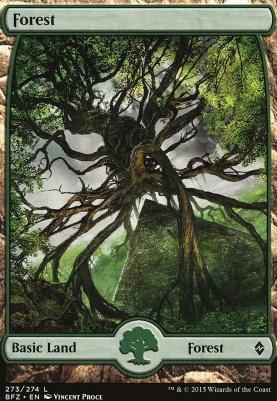 Battle for Zendikar: Forest (273 D - Full Art)