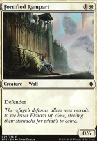 Battle for Zendikar Foil: Fortified Rampart