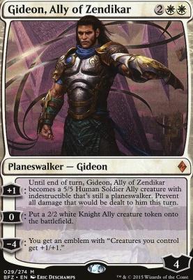 Battle for Zendikar Foil: Gideon, Ally of Zendikar