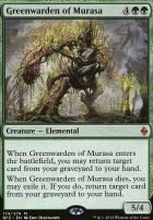Battle for Zendikar: Greenwarden of Murasa