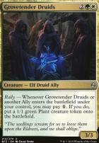 Battle for Zendikar: Grovetender Druids