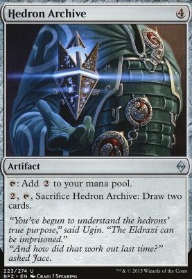 Battle for Zendikar Foil: Hedron Archive