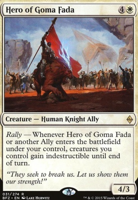 Battle for Zendikar: Hero of Goma Fada
