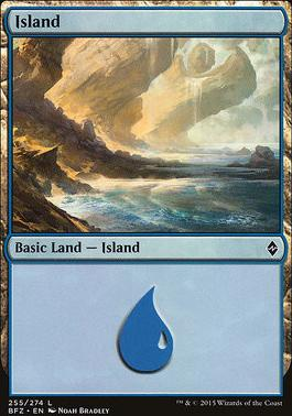 Battle for Zendikar: Island (255 A - Non-Full Art)
