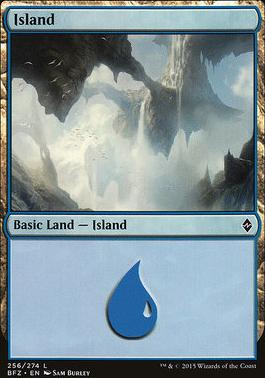 Battle for Zendikar: Island (256 B - Non-Full Art)
