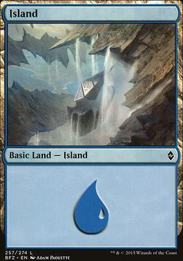 Battle for Zendikar: Island (257 C - Non-Full Art)