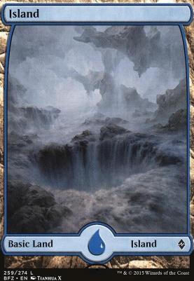 Battle for Zendikar: Island (259 E - Full Art)
