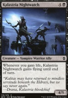 Battle for Zendikar Foil: Kalastria Nightwatch