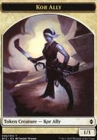Battle for Zendikar: Kor Ally Token