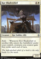 Battle for Zendikar Foil: Kor Bladewhirl