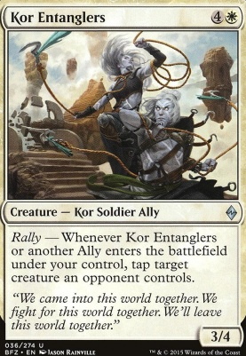 Battle for Zendikar: Kor Entanglers