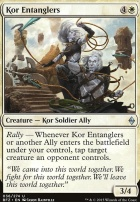 Battle for Zendikar: Kor Entanglers