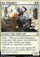 Battle for Zendikar Foil: Kor Entanglers