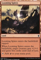 Battle for Zendikar Foil: Looming Spires