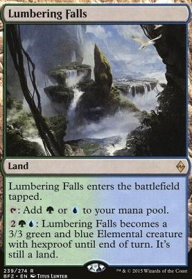 Battle for Zendikar Foil: Lumbering Falls