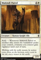 Battle for Zendikar Foil: Makindi Patrol