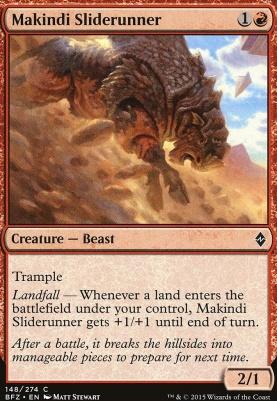 Battle for Zendikar: Makindi Sliderunner