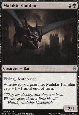 Battle for Zendikar: Malakir Familiar