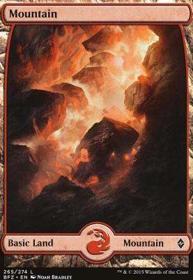 Battle for Zendikar: Mountain (265 A - Full Art)