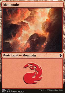 Battle for Zendikar: Mountain (265 A - Non-Full Art)