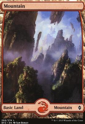 Battle for Zendikar: Mountain (266 B - Full Art)